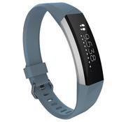Strap-it® Fitbit Alta / Alta HR siliconen bandje (grijsblauw)