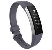 Strap-it® Fitbit Alta / Alta HR siliconen bandje (grijs)