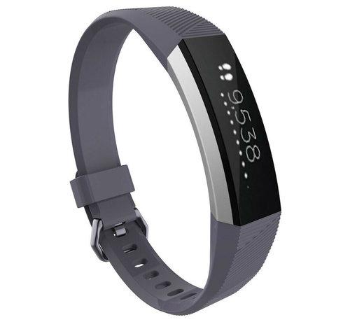 Strap-it® Strap-it® Fitbit Alta / Alta HR siliconen bandje (grijs)