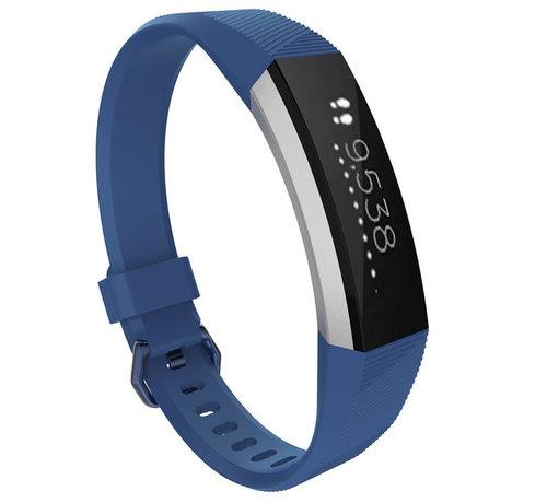 Strap-it® Strap-it® Fitbit Alta / Alta HR siliconen bandje (blauw)