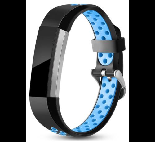 Strap-it® Strap-it® Fitbit Alta / Alta HR sport bandje (zwart/blauw)