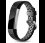 Strap-it® Fitbit Alta / Alta HR sport bandje (zwart/grijs)