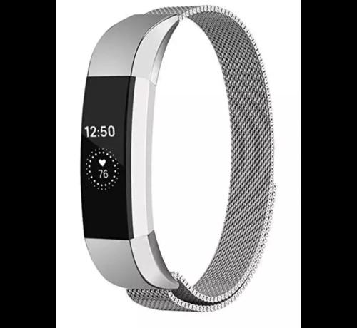 Strap-it® Strap-it® Fitbit Alta / Alta HR Milanese band (zilver)