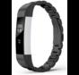 Strap-it® Fitbit Alta / Alta HR stalen bandje (zwart)