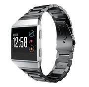 Strap-it® Fitbit Ionic stalen bandje (zwart)