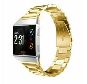 Strap-it® Fitbit Ionic stalen bandje (goud)