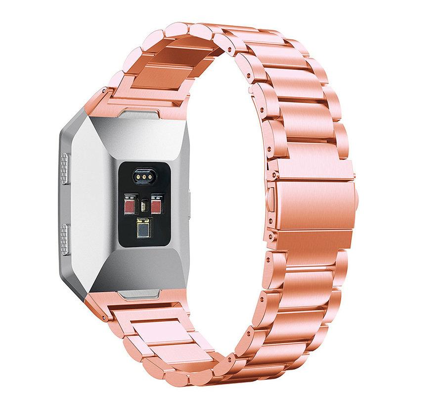 Strap-it® Fitbit Ionic stalen bandje (rosé goud)
