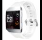 Strap-it® Fitbit Ionic siliconen bandje (wit)