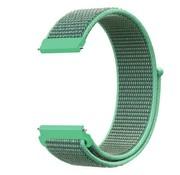 Strap-it® Samsung Galaxy Watch 41mm / 42mm nylon band (mint)