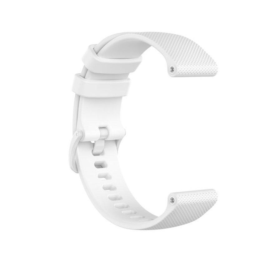 Strap-it® Polar Ignite siliconen bandje (wit)