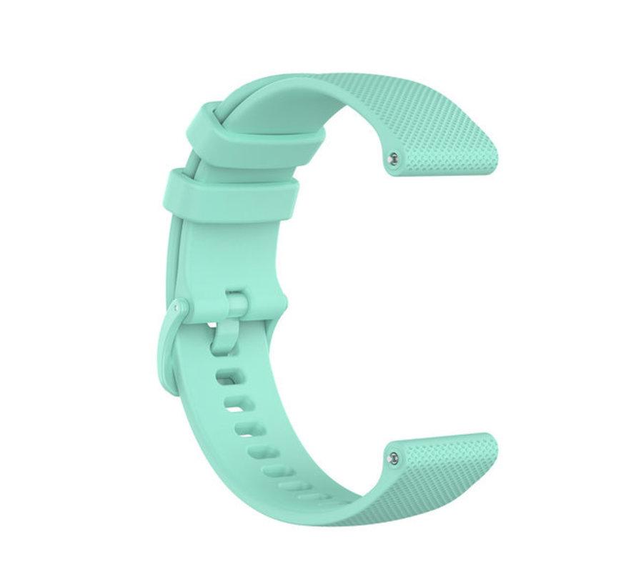 Strap-it® Polar Ignite siliconen bandje (Aqua)