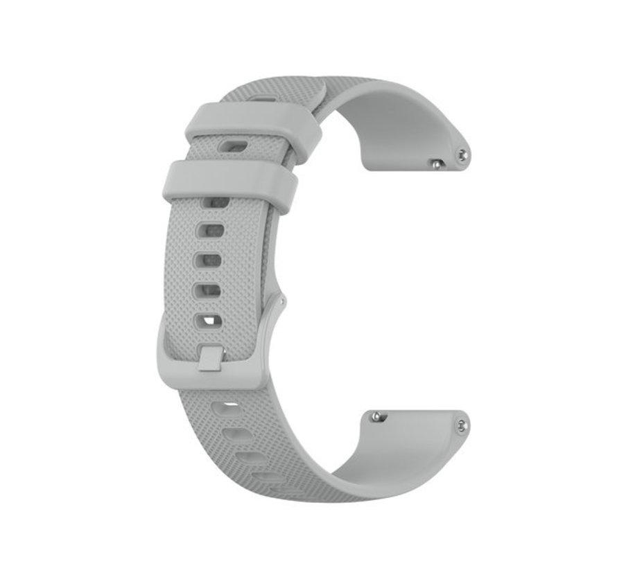 Strap-it® Polar Ignite siliconen bandje (grijs)