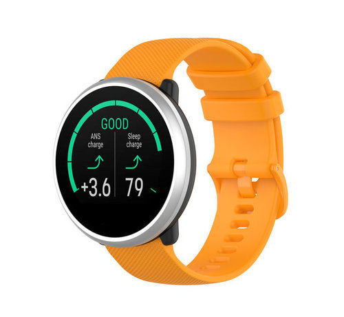 Strap-it® Strap-it® Polar Ignite siliconen bandje (oranje)