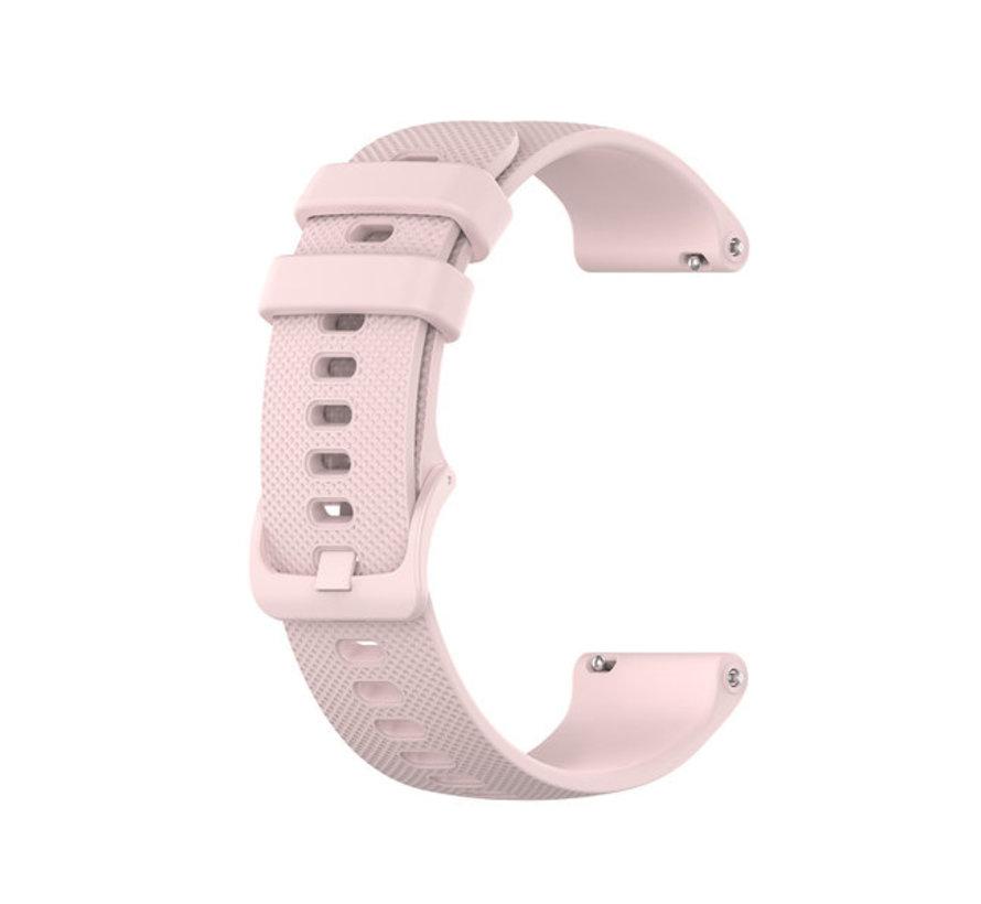 Strap-it® Polar Ignite siliconen bandje (roze)