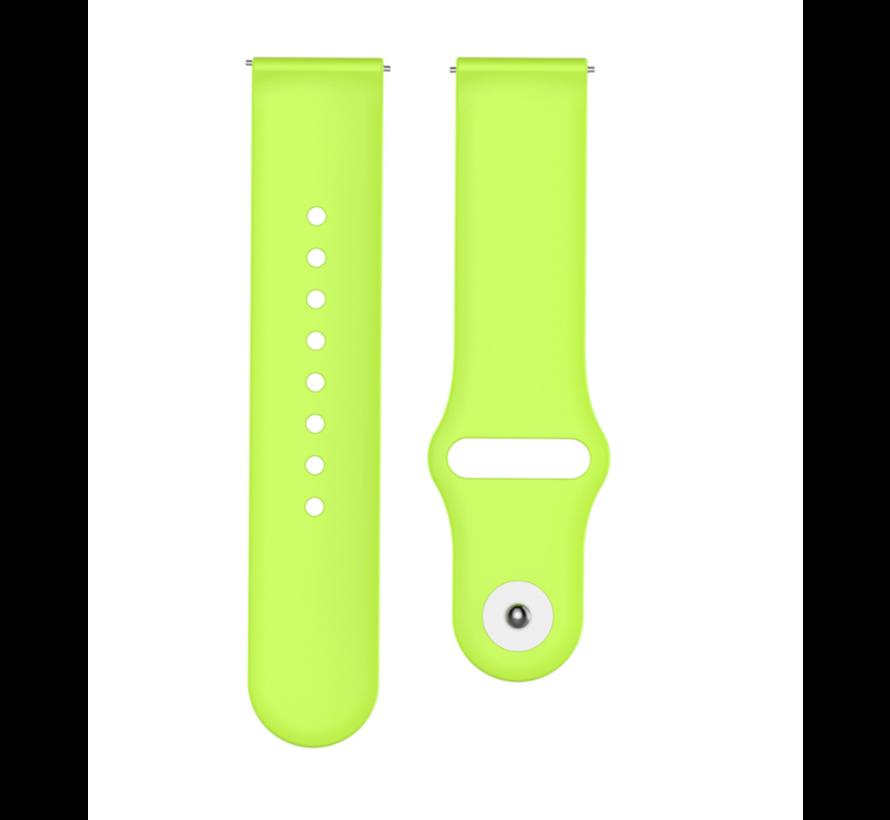 Strap-it® Garmin Vivoactive 3 sport band (lichtgroen)