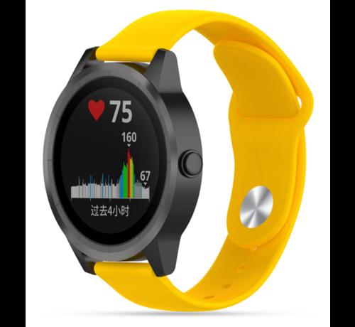 Strap-it® Strap-it® Garmin Vivoactive 3 sport band (geel)