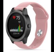 Strap-it® Garmin Vivoactive 3 sport band (roze)