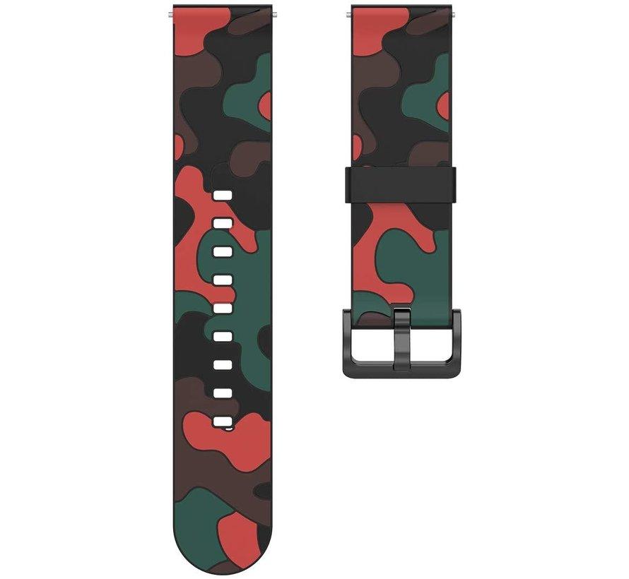 Strap-it® Polar Ignite camouflage band (rood)
