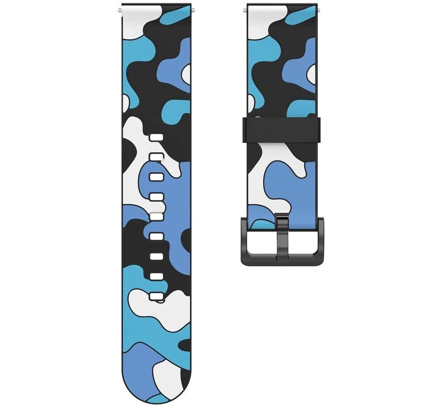 Strap-it® Polar Ignite camouflage band (blauw)