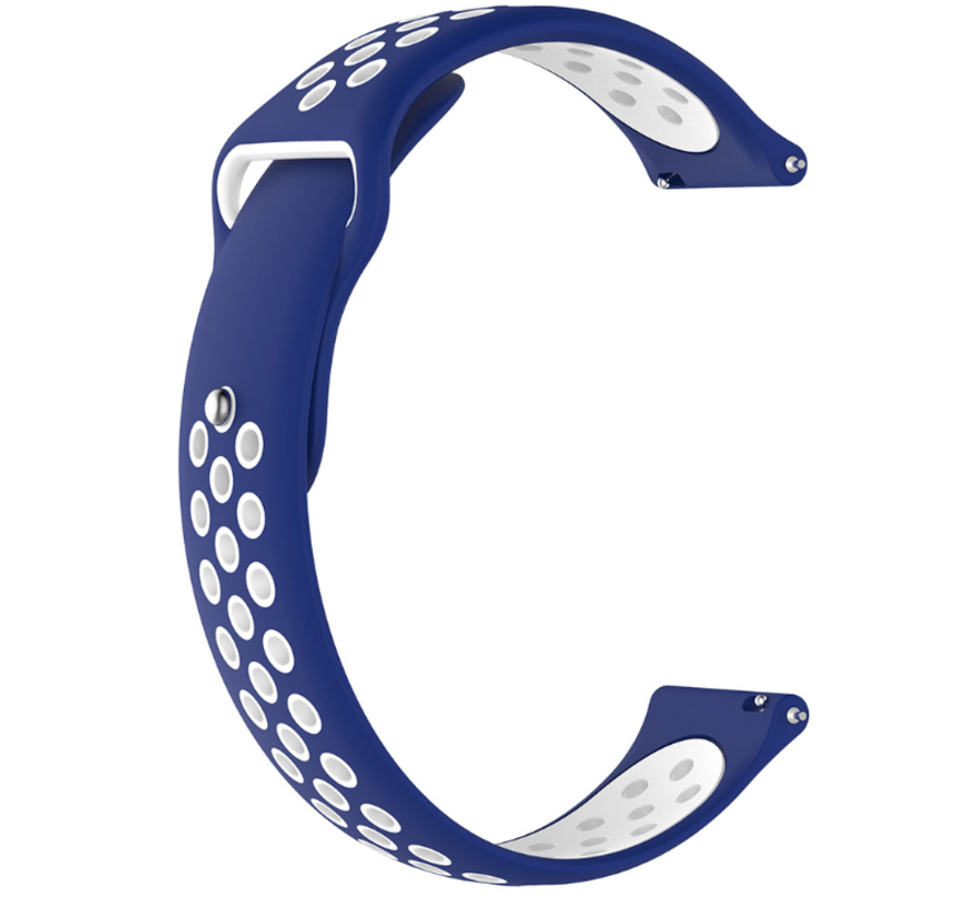 Strap-it® Polar Ignite sport band (blauw/wit)