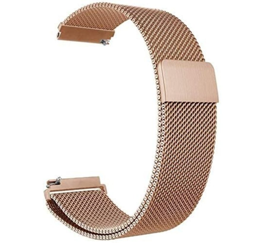Strap-it® Polar Ignite Milanese band (rosé goud)