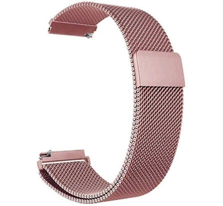 Strap-it® Polar Ignite Milanese band (roze)