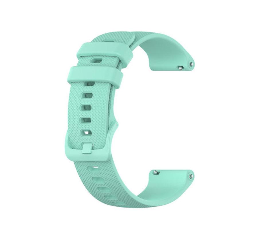 Strap-it® Polar Unite siliconen bandje (aqua)