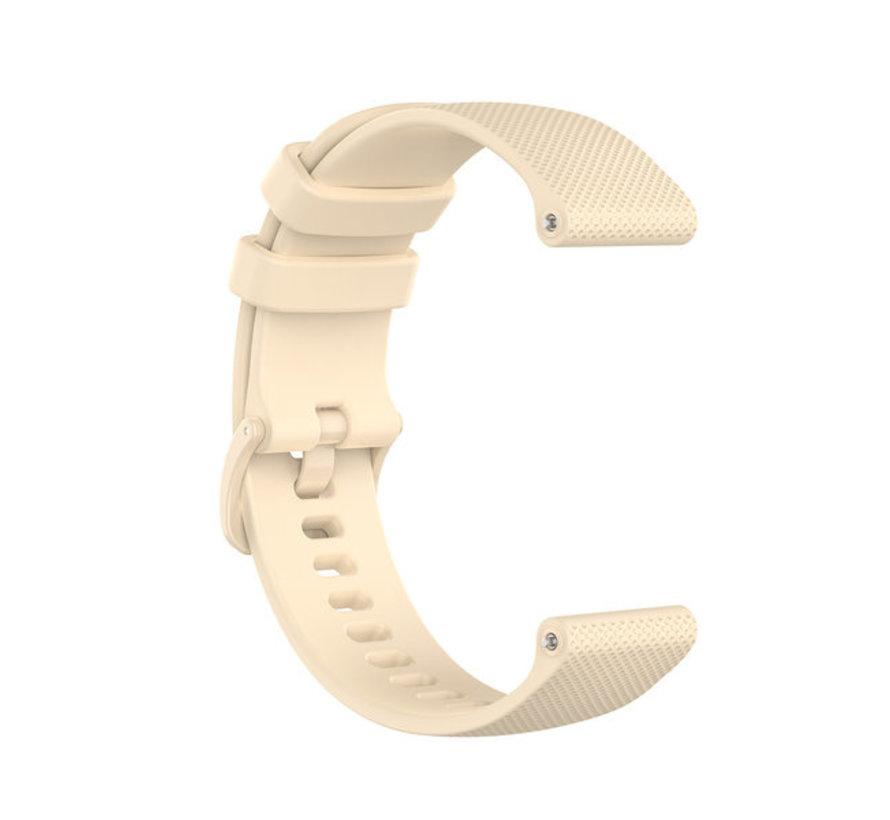 Strap-it® Polar Unite siliconen bandje (beige)