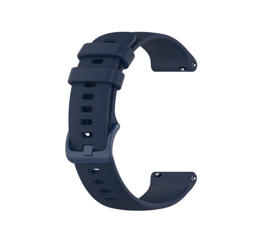 Strap-it® Polar Unite siliconen bandje (donkerblauw)