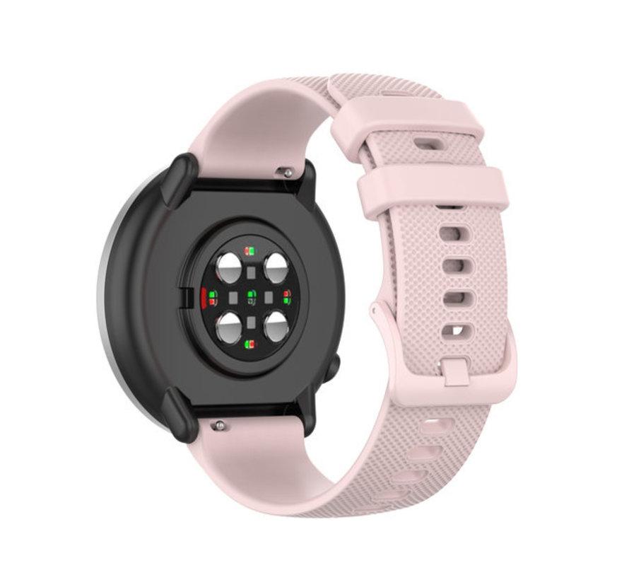 Strap-it® Polar Unite siliconen bandje (roze)