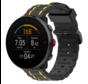 Strap-it® Polar Unite sport gesp band (zwart/geel)