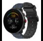 Strap-it® Polar Unite sport gesp band (zwart/blauw)