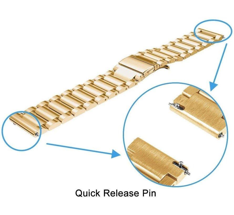 Strap-it® Polar Unite stalen band (goud)