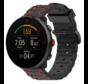 Strap-it® Polar Vantage M sport gesp band (zwart/rood)