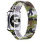 Strap-it® Apple Watch Milanese  band (camouflage groen)