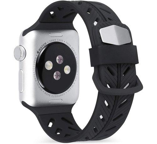 Strap-it® Strap-it® Apple Watch Special Edition band (zwart)