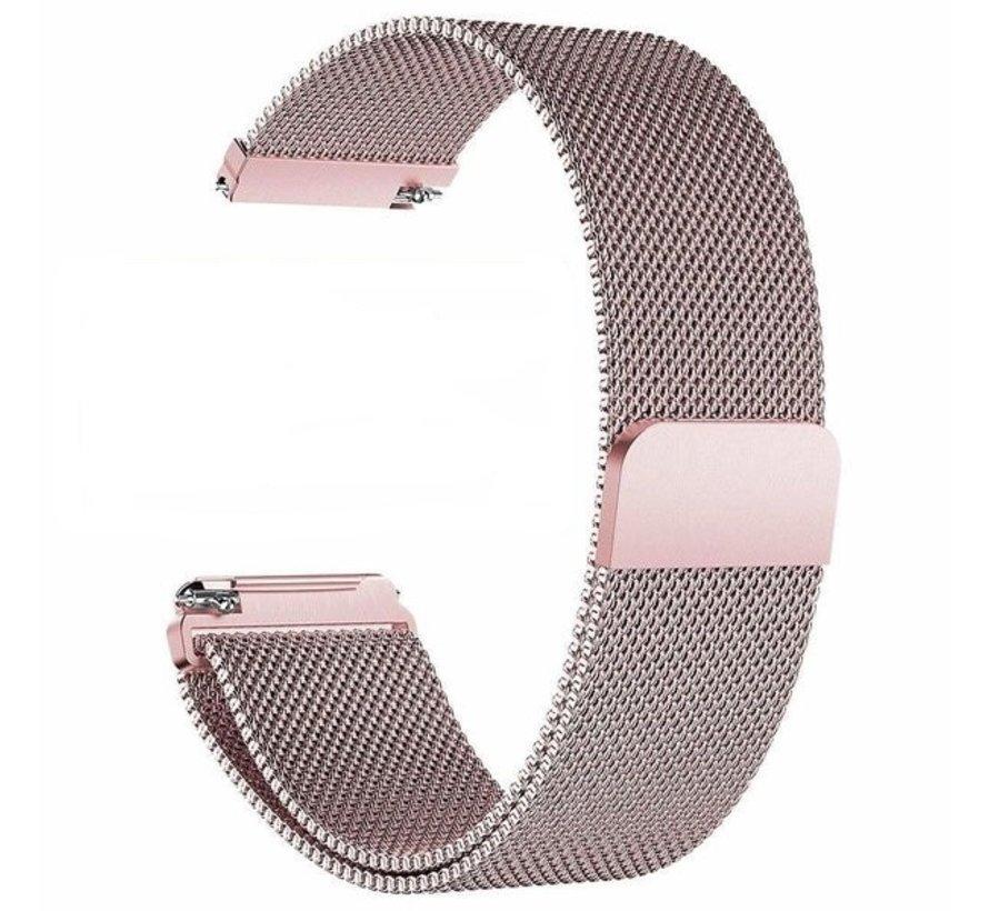 Strap-it® Fitbit Versa Milanese band (rosé pink)