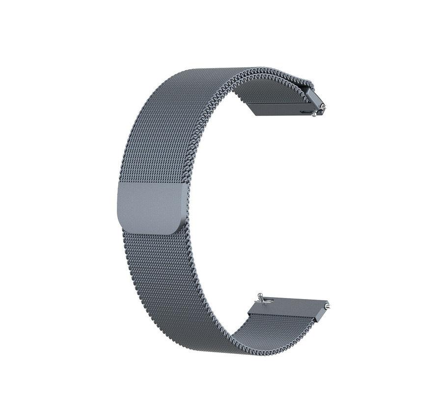 Strap-it® Garmin Vivoactive 3 Milanese band (space grey)
