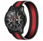 Strap-it® Samsung Galaxy Watch Milanese band 45mm / 46mm (zwart/rood)