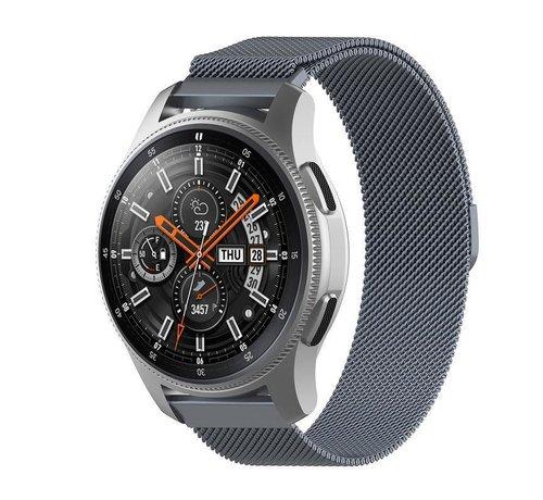 Strap-it® Strap-it® Samsung Galaxy Watch Milanese band 45mm / 46mm (space grey)