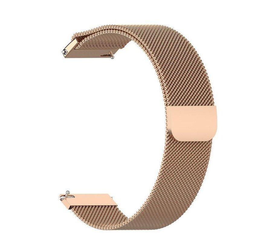 Strap-it® Polar Vantage M Milanese band (rosé goud)