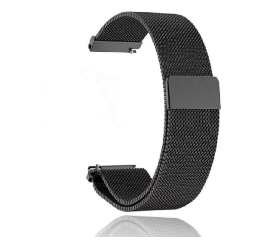 Strap-it® Garmin Vivomove HR Milanese band (zwart)