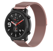 Strap-it® Xiaomi Amazfit GTR Milanese band (roze)