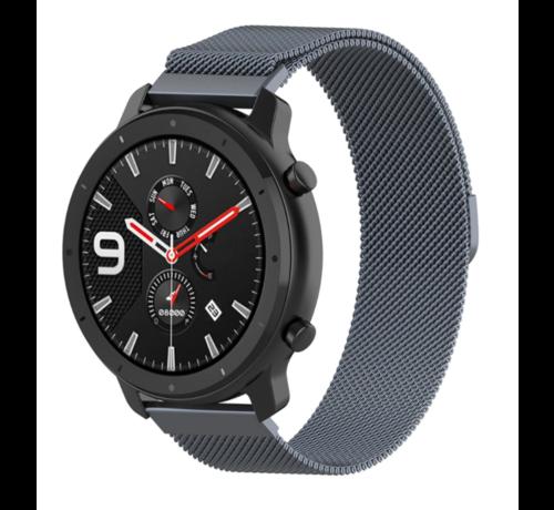 Strap-it® Strap-it® Xiaomi Amazfit GTR Milanese band (space grey)