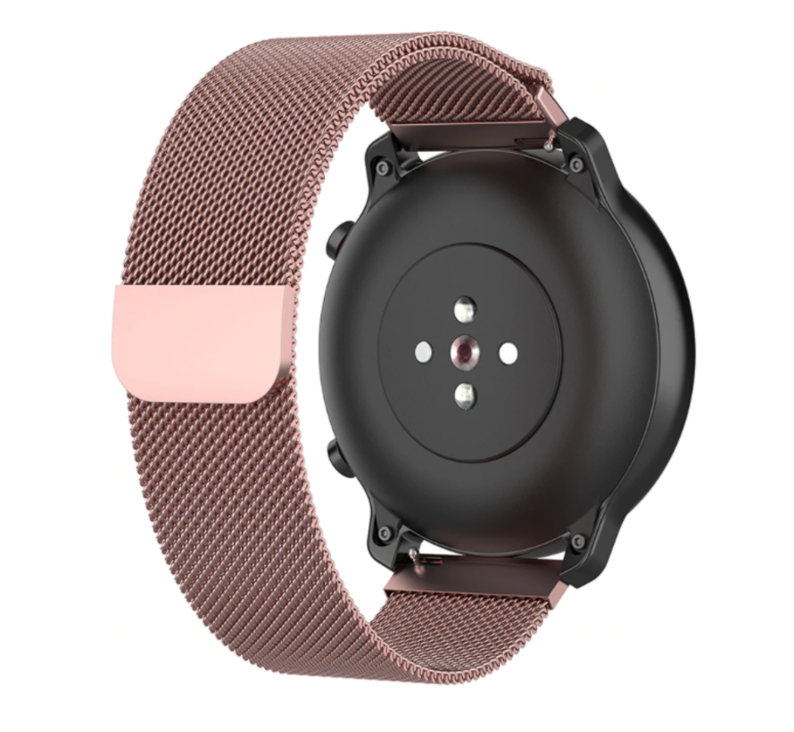Strap-it® Samsung Galaxy Watch 3 Milanese band 41mm (roze)