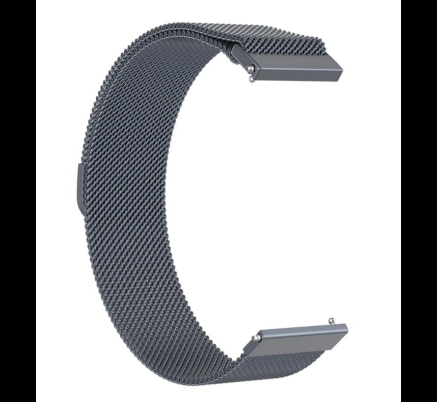 Strap-it® Samsung Galaxy Watch 3 Milanese band 41mm (space grey)