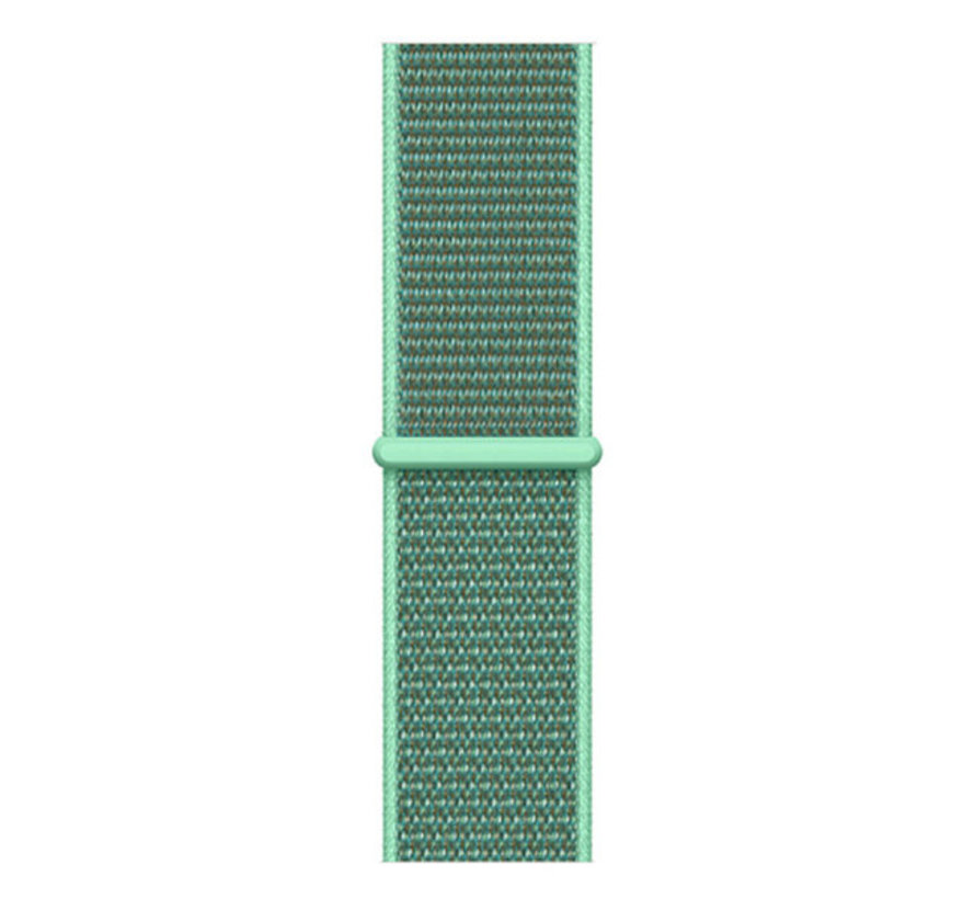 Strap-it® Samsung Galaxy Watch 41mm / 42mm nylon band (mint)