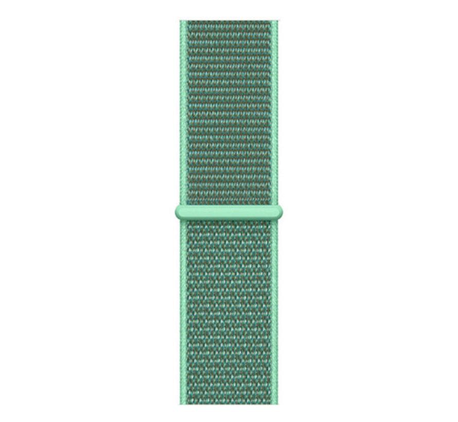 Strap-it® Samsung Galaxy Watch 45mm / 46mm nylon band (mint)