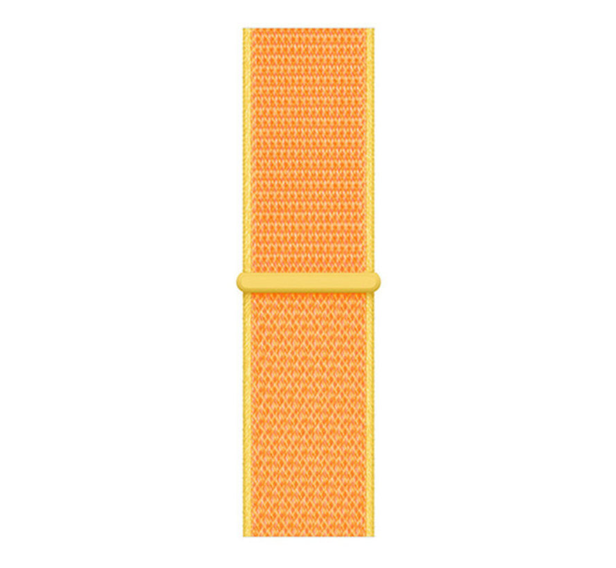 Strap-it® Samsung Gear S3 nylon band (lichtgeel)