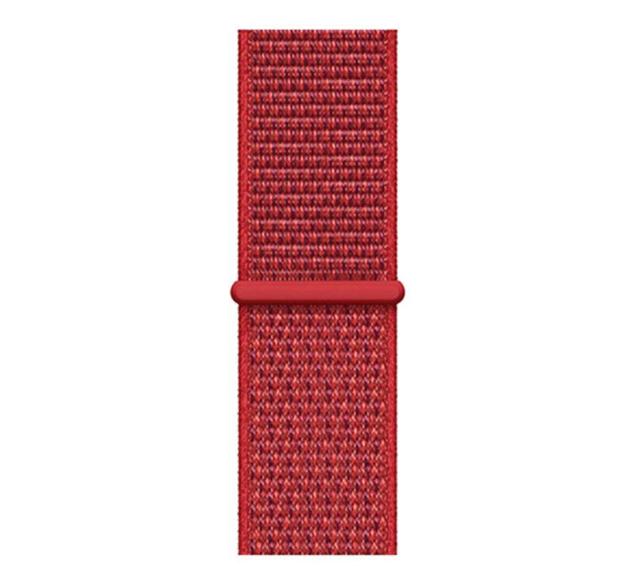 Strap-it® Polar Ignite nylon band (Chinees rood)